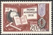 France 1958 Academic Palms/ Education/ Learning/ Books/ History 1v (n43546)