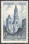 France 1958 Senlis Cathedral/ Buildings/ Architecture/ Religion/ Churches 1v n41904