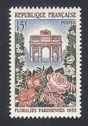 France 1959 Flowers  /  Plants  /  Nature  /  Arch  /  Gate  /  Buildings  /  Architecture 1v (n34171)