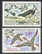 France 1960 Migratory Birds  /  Conservation  /  Ducks  /  Nature  /  Wildlife 2v set (n24253)