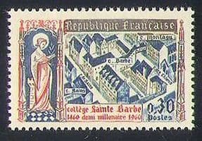 France 1960 St Barbe College  /  Education  /  Building  /  Architecture  /  Animation 1v n34760