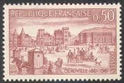 France 1961 Horse  /  Deauville  /  Tourism  /  Leisure  /  Transport  /  Buildings 1v (n23288)
