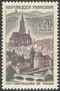 France 1961 Thann  /  Church  /  Buildings  /  Architecture 1v (n33136)