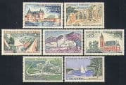 France 1961 Tourism  /  Buildings  /  Bridges  /  Sailing  /  Architecture 7v set (n33102)