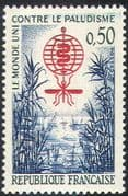 France 1962 Malaria/ Mosquito/ Swamp/ Insects/ Medical/ Health/ Disease 1v (n42812)