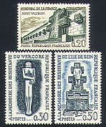 France 1962 Resistance  /  Army  /  Monuments  /  Memorials  /  WWII  /  People 3v set (n32923)