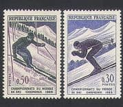 France 1962 Skiing  /  Chamonix  /  Sports  /  Games  /  Animation 2v (n34173)