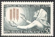 France 1963 FAO/ FFH/ Freedom From Hunger/ Wheat/ Crops/ Food/ Animation 1v (n43298)