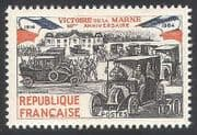 France 1964 Cars  /  Transport  /  Military  /  Motors  /  Army  /  Taxi  /  Battle  /  Marne 1v (n23524)