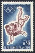 France 1964 Judo/ Olympic Games/ Olympics/ Sports/ Martial Arts 1v (n23821)
