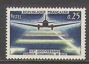 France 1964 Plane  /  Post  /  Mail  /  Aviation 1v (n23247)