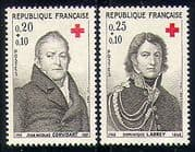 France 1964 Red Cross  /  Medical  /  Health  /  People 2v (n29187)