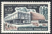 France 1965 Motor Bike/ Motorcycle/ Bikes/ Transport/ Buildings/ Architecture/ Youth 1v (n24610)