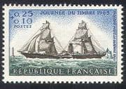 France 1965 Ships  /  Boats  /  Nautical  /  Sailing  /  Lighthouse 1v (n24263)