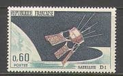 France 1966 Space  /  Satellite D1  /  Rockets 1v (n23253)