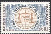 France 1967 Accountancy Congress/ Scales/ Accounts/ Ships/ Harbour/ Cranes/ Business/ Commerce 1v (n23483)