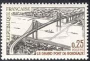 France 1967 Bordeaux Bridge/ Engineering/ Architecture/ Ships/ Transport/ Construction 1v (n42806)