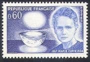 France 1967 Cancer  /  Marie Curie  /  Medical  /  Health  /  Science  /  People 1v n28764