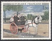 France 1967 Horse  /  Dog  /  Animals  /  Transport  /  Art 1v (n25136)