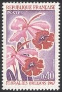 France 1967 Orleans Flower Show/ Orchids/  Plants/ Nature/ Orchid  1v (n43295)