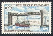 France 1968 Bridge  /  Transport  /  Ship  /  Building 1v (n29014)