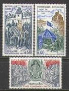 France 1968 Horses  /  History  /  Joan of Arc  /  Army 3v (n23290)