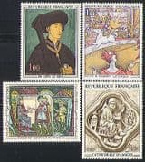 France 1969 Art  /  Painting  /  Circus  /  Horse  /  Carving 4v n31772