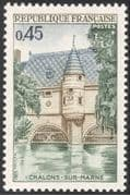 France 1969 Chateau/ Chalons-sur-Marne/ River/ Buildings/ Architecture/ Heritage/ History 1v (n43304)