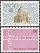 France 1971 Europa/ Church/ Basilica/ Buildings/ Architecture/ Chain 1v (n43833)