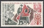 France 1973 Poland  /  Immigration  /  Immigrants  /  Coal Mining  /  Steel Industry 1v (n40719)