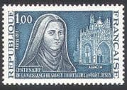 France 1973 St Theresa of Lisieux  /  People  /  Church  /  Building  /  Architecture 1v n40721