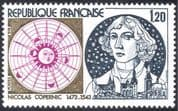 France 1974 Copernicus/ Science/ People/ Astronomer/ Astronomy/ Solar System/ Sun/ Space 1v (n23480)