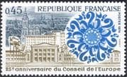 France 1974 Council of Europe/ Buildings/ Architecture/ Politics 1v (n43444)