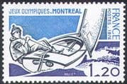 France 1976 Olympic Games/ Boats/ Olympics/ Sports/ Sailing/ Dinghy/ Racing 1v (n23465)