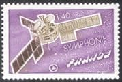 "France 1976 ""Symphonie No. 1""/ Space/ Satellite/ Telecommunications/ Communications 1v (n22972)"