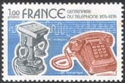 France 1976 Telephone/ Inventions/ Science/ Technology/ Communications 1v (n43848)