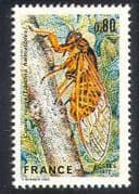 France 1977 Cicada  /  Insects  /  Nature  /  Conservation 1v n23811