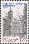 France 1978 Philatelic Congress/ Troyes/ Hotel/ Buildings/ Architecture 1v (n46190)