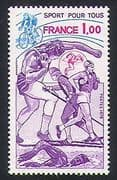 France 1978 Sports/ Cycling/ Bikes/ Skiing/ Athletics/ Games/ Transport 1v (n31885)