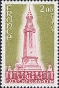 France 1978 War Memorial/ Monument/ Military Cemetery/ Soldiers/ Graves 1v (n46130)