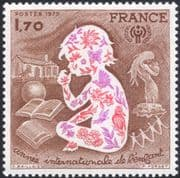 France 1979 Children/ IYC/ Year of Child/ Books/ Birds/ Welfare/ Animation 1v (n30957)