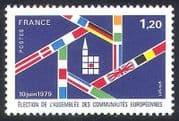 France 1979 European Elections  /  Voting  /  Flags  /  Politics  /  Government 1v (n40791)