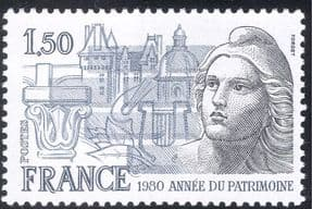 France 1980 Heritage Year/