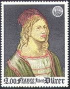 "France 1980 ""Philexfrance""/ Art/ Paintings/ Durer/ StampEx/ Artists 1v (n42101)"