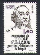 France 1981 Jules Ferry  /  People  /  Education System 1v (n38253)