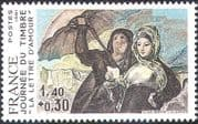 France 1981 Stamp Day/ Goya/ Art/ Artists/ Paintings/ People 1v (n42754)