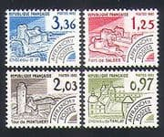 France 1982 Buildings  /  Fort  /  Tower  /  Chateaux  /  Architecture  /  Pre-cancel 4v set n33082