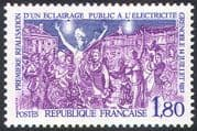 France 1982 Electric Street Lighting/ Electricity /Energy/ Science/ Technology 1v (n41768)