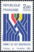 France 1982 Industrialized Countries Summit/ Industry/ Business/ Trade 1v (n44202)