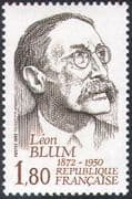 France 1982 Leon Blum/ Politicians/ Politics/ People/ Government 1v (n42752)